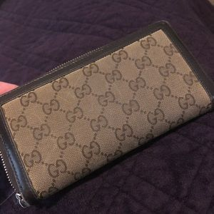 Gucci Bags - Brown Gucci Wallet